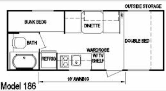 Layton Camper Floorplan Dfw Camper Rentals